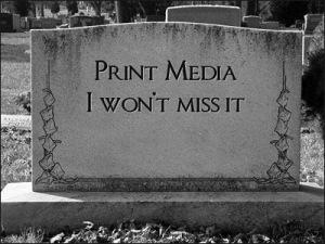 death print media