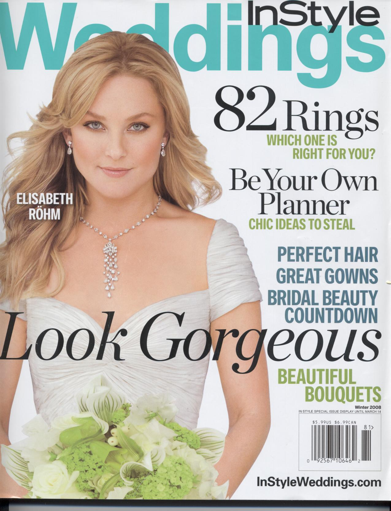 instyle weddings the number one wedding magazine is closing the last ...
