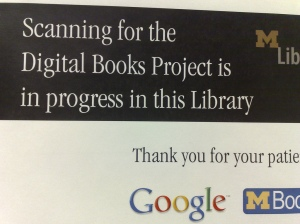 The University of Michigan library is one of the many libraries Google partnered with to scan books since 2004. photo credit Andrew Turner via http://goo.gl/Y7takH
